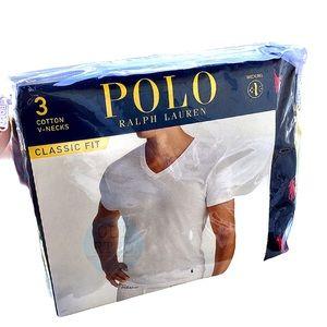 Polo RL  3 pk V-necks